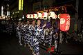 Hachiman Yama musicians parade.jpg