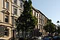 Haeuser Kirchfeldstrasse 45 bis 49 in Duesseldorf-Unterbilk, von Nordosten.jpg