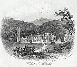 Duke of Newcastle - Hafod/Havod Uchtryd as improved by the fourth Duke