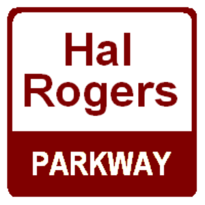 Hal Rogers Parkway - The Hal Rogers Parkway previously used a brown shield.