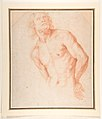 Half-Figure of a Male Nude with Arms behind Back MET DP812182.jpg
