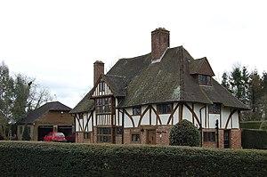 Rolvenden Layne - Image: Half Timbered house, Maytham Road, Rolvenden geograph.org.uk 1763318