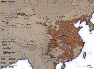 Region of Han dynasty suzerainty over previously independent states