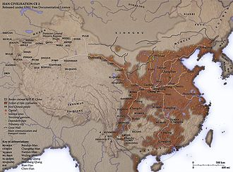 Protectorate of the Western Regions - Garrisons of the Han dynasty