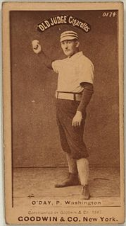 Hank ODay American baseball player, manager, and umpire