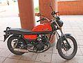 Hanway Raw125 motorcycle in Madrid (Spain) 01.jpg