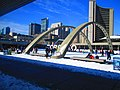 Happy skaters on Nathan Phillips Square, 2016 03 06 (2) (25205840729).jpg