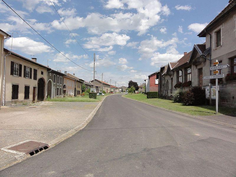 Harbouey (M-et-M) Grande Rue