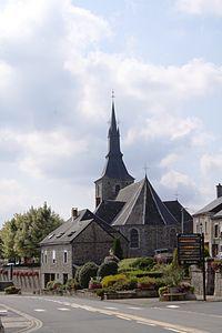 Hargnies - Église Saint-Lambert - Photo Francis Neuvens lesardennesvuesdusol.fotoloft.fr.JPG