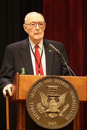 Harlan Cleveland - Harlan Cleveland in DC, 2006.