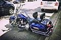 Harley-Davidson parked in North Bend, WA (2008-04-26).jpg