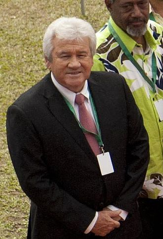 President of the Government of New Caledonia - Image: Harold Martin