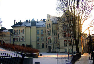 Skam (TV series) - Hartvig Nissen School at Frogner in Oslo