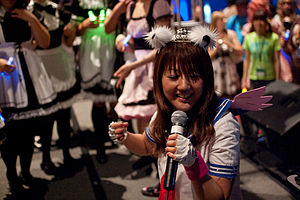 Haruko Momoi - Momoi performs at FanimeCon 2010