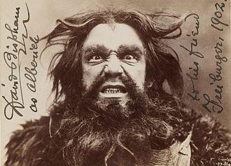 David Bispham - David Bispham as Alberich in Siegfried, circa 1902