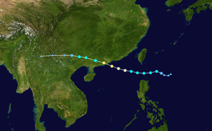 Typhoon Hato - Image: Hato 2017 track