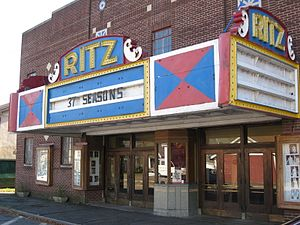 Hawley, Pennsylvania - The Ritz Theater in Hawley, PA