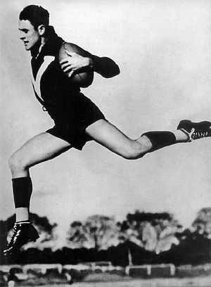 Brownlow Medal - Haydn Bunton, Sr., the first of only four players to win three Brownlow Medals