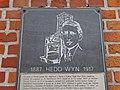 Hedd Wyn Plaque Welsh Memorial Park Ieper (Ypres) Parc Coffa'r Cymry, Gwlad Belg 26.jpg
