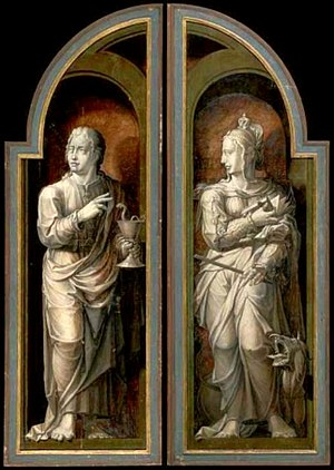 St. John the Evangelist and St. Margaret of Antioch