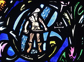 Charles Jay Connick - Connick's windows in Heinz Chapel contain 391 identifiable figures, and equal number men and women, from religious as well as secular history, music, science, philosophy, poetry and literature, including this pirate.