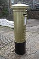 Helen Glovers gold postbox in Penzance, Cornwall (2).jpg
