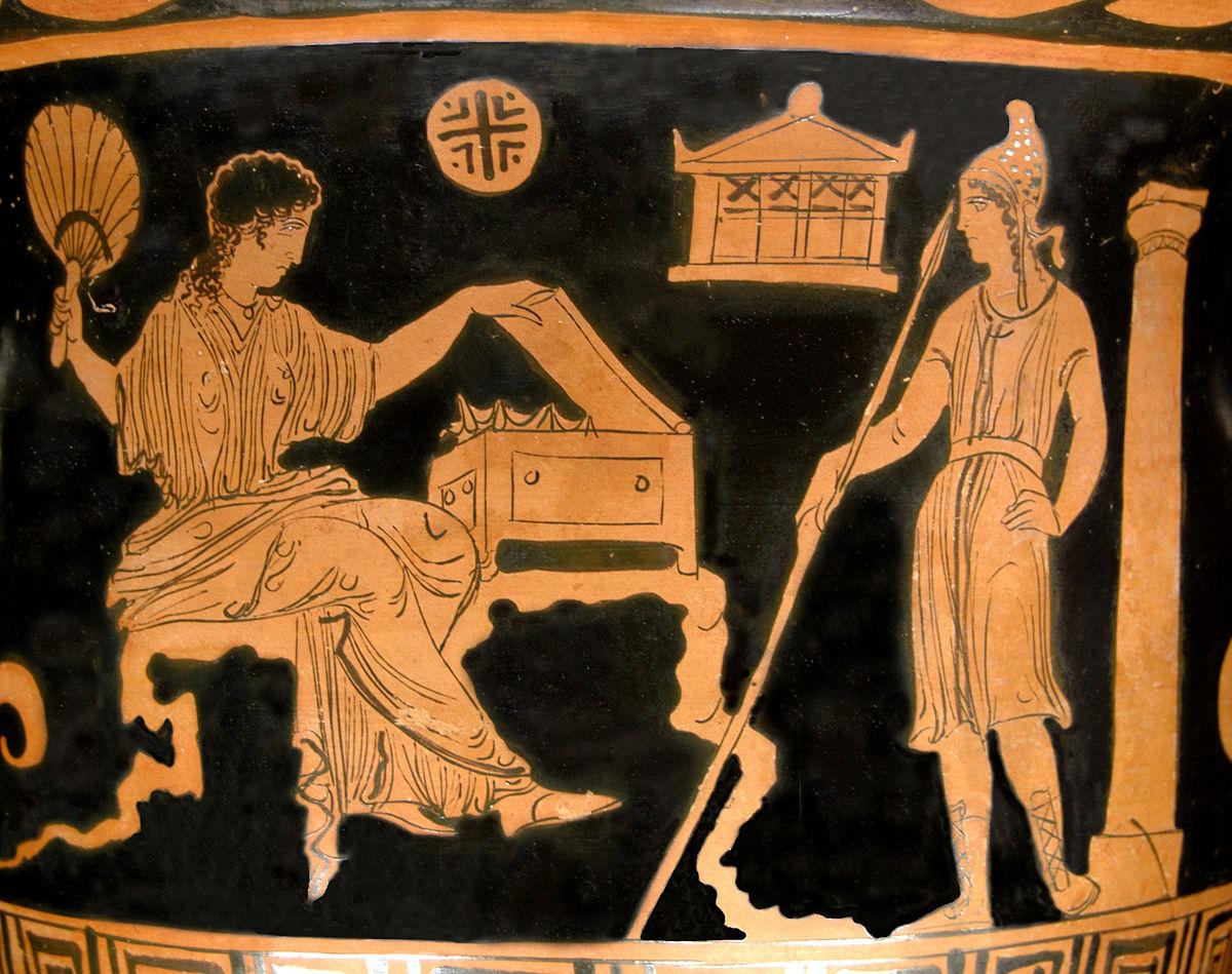 Древнегреческие мифы троянская война краткое содержание