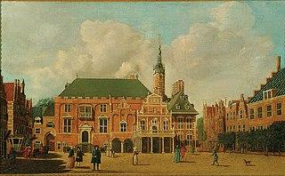The Grote Markt, Haarlem