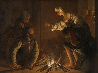 Le reniement de saint Pierre