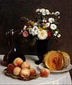 Henri Fantin-Latour - Still Life with a Carafe, Flowers and Fruit - Google Art Project.jpg