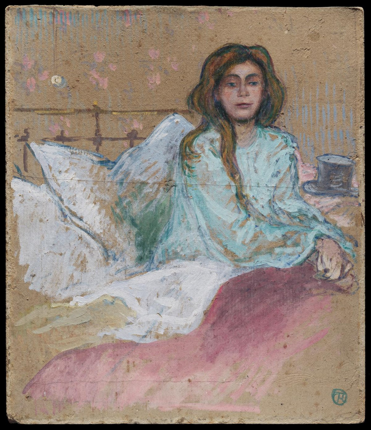 File Henri De Toulouse Lautrec Woman Seated In Bed 2004 445 Museum Of Fine Arts Jpg Wikimedia Commons