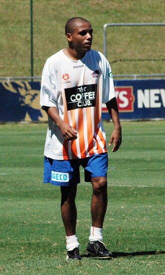 Henrique Andrade Silva - Henrique training with Queensland Roar in 2009