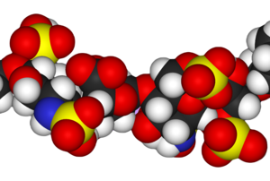 Heparin - Image: Heparin 3D vd W