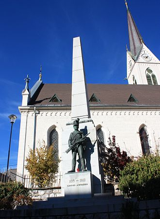 Hermagor-Pressegger See - Saint Hermagoras parish church