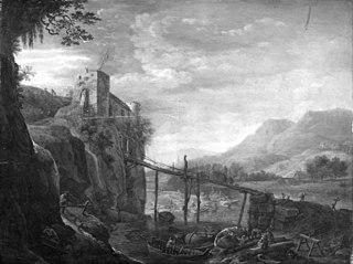 Ruin of a Castle on a Rock