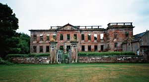 High Head Castle - The front of High Head Castle, 2006