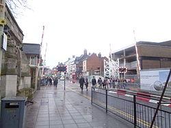 High Street level crossing, Lincoln (13th December 2015).JPG
