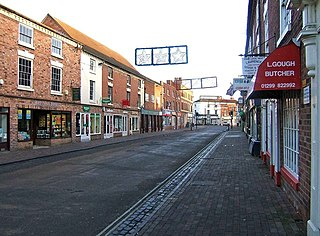 Stourport-on-Severn town and civil parish in the Wyre Forest District of Worcestershire, England