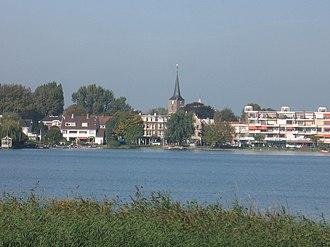 Hillegersberg - Hillegersberg, as seen from the Bergsche Voorplas