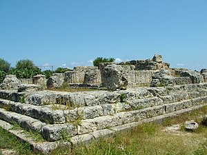 Temple of Victory (Himera) - The Temple of Nike at Himera