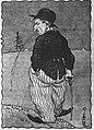 Hinko Smrekar - Avtoportret kot Charlie Chaplin.jpg