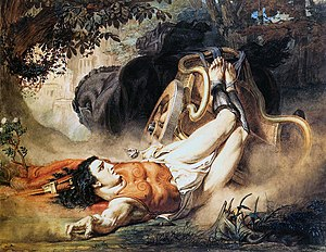 Hippolytus (play) - The Death of Hippolytus (1860) by Sir Lawrence Alma-Tadema