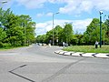 Hipswell Road roundabout, Catterick Garrison - geograph.org.uk - 171887.jpg