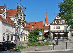 Rathausplatz in Ditzingen
