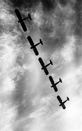 Hispano-Suiza E-30 - Hispano E-30s of Aeronáutica Naval in formation