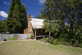 Canberra - Blundells Cottage, built around 1860, is one of the few remaining buildings built by the first white settlers of Canberra.
