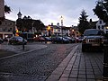Hitchin Town Square at dusk - geograph.org.uk - 989822.jpg