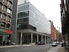 Holborn, ITN Building, 200 Gray's Inn Road, WC1 - geograph.org.uk - 667814.jpg