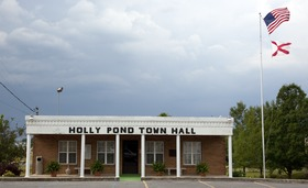 Holly Pond Town Hall, Holly Pond, Alabama LCCN2010640704.tif