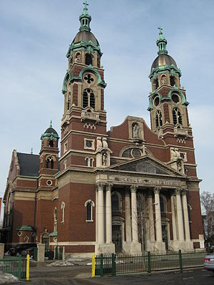 Holy Cross Church (Chicago) - Image: Holy Cross Church, Back of the Yards